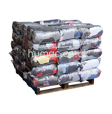 30 X 10KG Mechanic Mix Rags Wiping Cleaning Rag Polishing Cloths Wiper Pallet