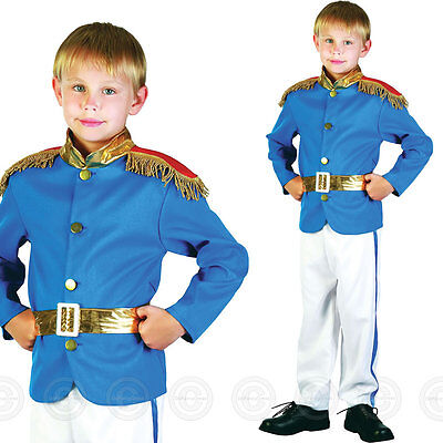 Boys Prince Fancy Dress Costume Royal Charming Fairy Tale Childs Fairytale Kids