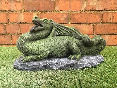 Large Dragon Garden Statue Ornament Latex Only Mould/Mold (ORIENTAL8)
