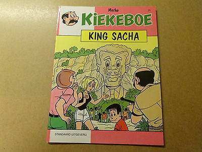 STRIP / KIEKEBOE 71: KING SACHA | 1ste druk