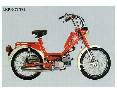 1977 Negrini Leprotto 49 Moped Photo Morini ca2458