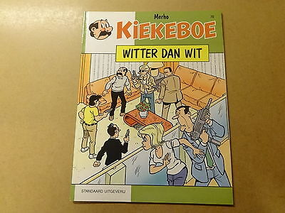 STRIP / KIEKEBOE 70: WITTER DAN WIT | 1ste druk