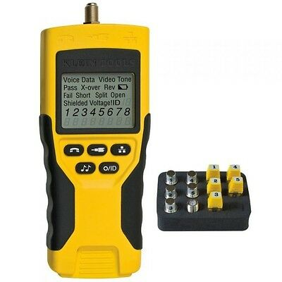 Klein Tool VDV Scout Pro 2 Tester Kit Voice, Data, and Video Cable Tester