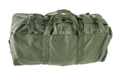 GI Army Improved Duffel Bag Deployment 8465-01-604-6541 Slightly Irregular Sport