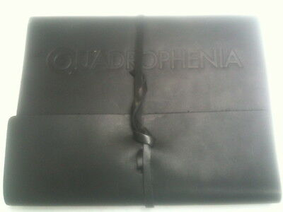 The Who: Exclusive Quadrophenia Tour Black Leather Journal - 2012/2013 VIP