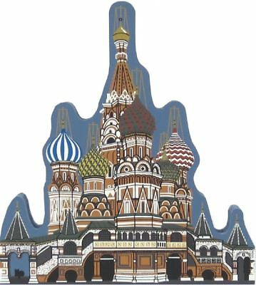 Cat's Meow Village St. Basil's Cathedral Moscow RUSSIA #03-914 NEW *Ship Disc*