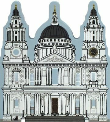 Cat's Meow Village St.Paul's Cathedral London England #05-911 NEW *Ship Disc*