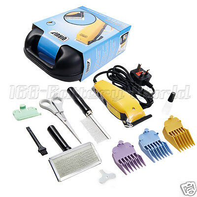 Professional Pet Cat Dog Multi Cut Grooming Animal Kit Hair Trimmer Clipper Uk