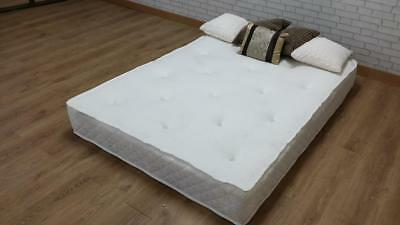 "3Ftsingle 4Ft6 Double 5Ft King Orthopaedic Memory Mattress 10"" For Divan Beds"