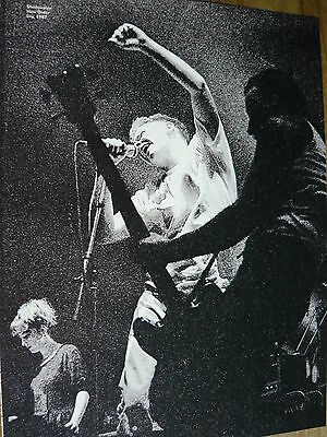 New Order - Magazine Cutting (Full Page Photo) (Ref T13)