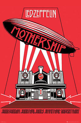 LED ZEPPELIN - MOTHERSHIP MUSIC POSTER - 24 x 36 BAND 31570