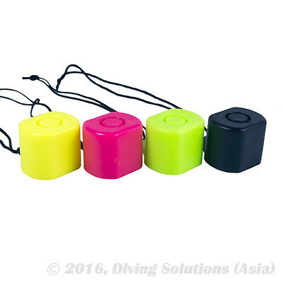 Scuba Diving Tank Valve Cap Protector Blue Green Yellow Black Pink Color