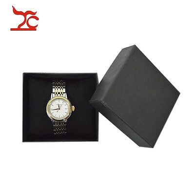 5pcs Jewelry Boxes and Packaging Gift Watch Box with Black Velvet Cushion Pillow