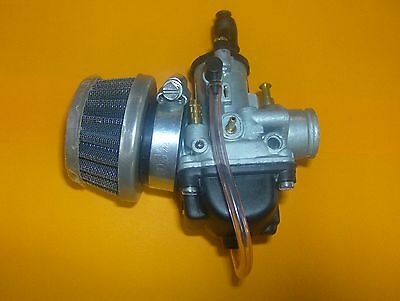 Piaggio Fly 50 Sports Air Filter 35Mm Fitting Brushed Aluminum