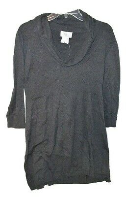 Oh Baby Wide Collar Maternity Sweater Size Large Nwt