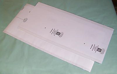 30 Pack Brodart Fold-On Book Jacket Covers -- Two Pack -- Clear Mylar, lo-luster