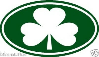 Shamrock Bumper Sticker Toolbox Sticker Laptop Sticker Window Sticker