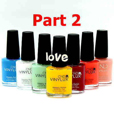 CND Vinylux Weekly Nail Polish Lacquer Matching *Series 3 / Any Color