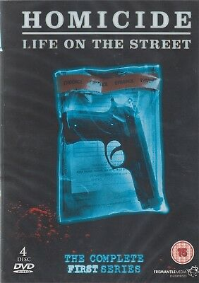 Homicide Life On The Streets - Season / Series 1 - NEW Region 2 DVD