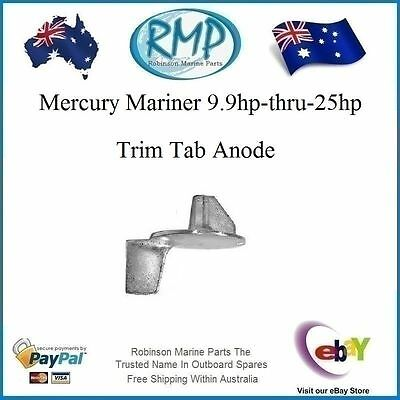 A Brand New 9.9hp-thru-25hp Trim Tab Suits Mercury Mariner Outboards # VP6092