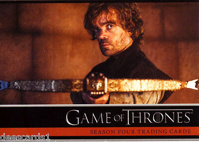 Game of Thrones Season 4 Trading Cards Complete 100 Base Card Set + P1 Promo