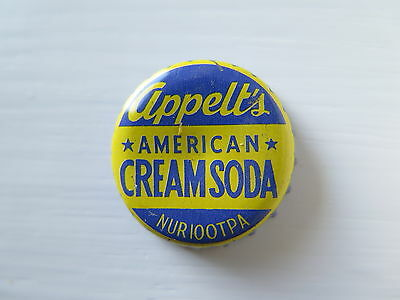 Crown Seal Bottle Cap Appelts American Cream Soda Nuriootpa South Aust #used#