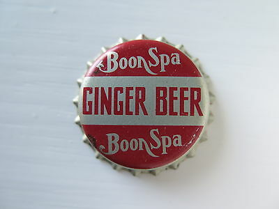 Crown Seal Bottle Cap Top Boon Spa Ginger Beer Victoria Australia Mint Unused