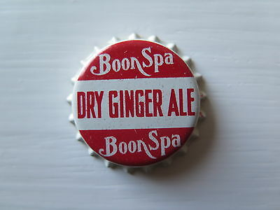 Crown Seal Bottle Cap Boon Spa Dry Ginger Ale Victoria Australia Mint Unused