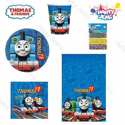 Thomas Tank & Friends Birthday Party Tableware Plates Napkins Cups Tablecovers