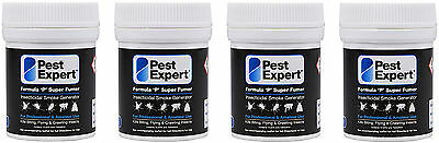 Flea Bomb Foggers For House Treatment Pest Expert Formula 'P' Supersize 4 x 11g