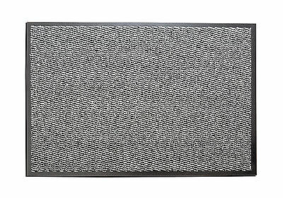 Large Non-Slip Grey Entrance Floor Door Mat Heavy Duty Commercial Barrier Mats