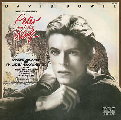 David Bowie : David Bowie Narrates Prokofiev's Peter and the Wolf CD (2013)
