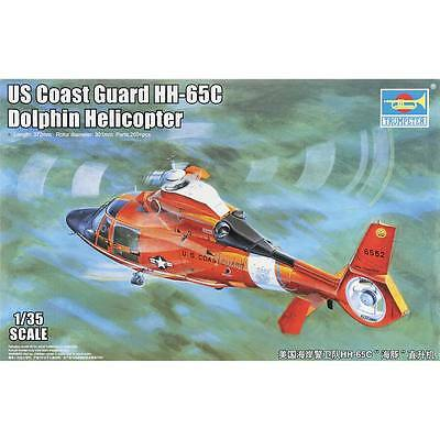 NEW Trumpeter 1/35 HH-65C Dolphin US Coast Guard Helicopter 5107