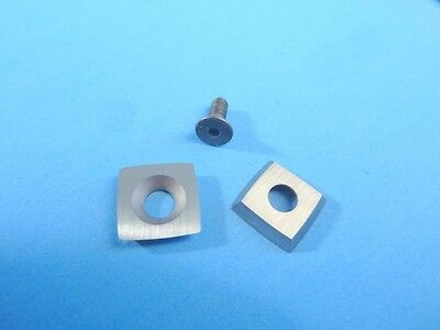 """Mid Size Radius Carbide Insert 7/16"""", 2"""" Curved Sides, Woodturning Azcarbide"""