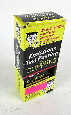Emissions Test Passing for Dummies Gasoline Fuel System Treatment 16 Oz. NEW