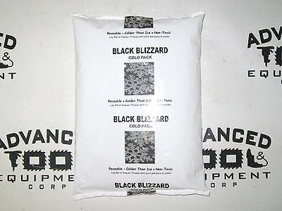 Black Blizzard Cold Pack Reusable Colder Than Ice NonToxic Freezer Ice Pack Yeti