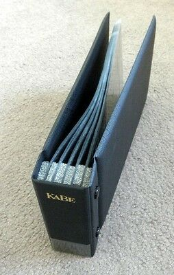 Kabe Black First Day Cover Holder- Holds 100 Covers