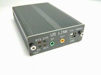 USB PC linker Adapter U5-Link Connector for YAESU FT-817/FT-857/897 IC-2720/2820