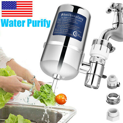 Water Purifier For Kitchen Sink Home Filtration Tap Bathroom Mount Water Filter