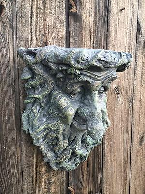 Tree Beard Green Man Wall Plaque Latex Only Garden Ornament Mould (WP14L)