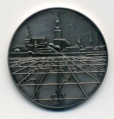 Kunst Medaille Coutinho Caro Co 1895 - 1970 Silber 925 M_042