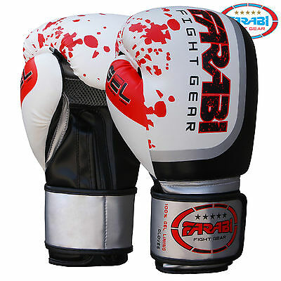 Boxing Gloves Punch Bag Training Fitness Muay Thai gloves 10-oz 12-oz 14-oz 16-o