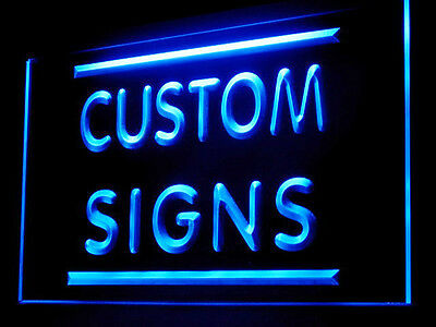 Name Personalized Custom Made Customize Display LED Light Sign