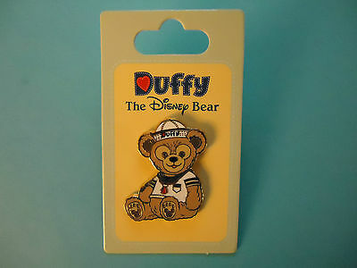 Disney  EPCOT Duffy, the Disney Bear Pin  ****NEW ON CARD*****