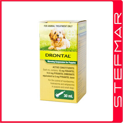 Bayer Bay-O-Pet Drontal Worming Suspension 30ml Dogs and Puppies