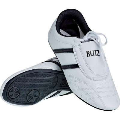 Blitz Kids Martial Arts Training Shoes White Black