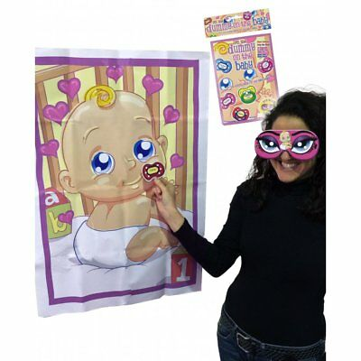Pin the Dummy Baby Shower Party Game
