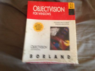 Borland Object Vision 2.1 Software For PC Brand New & Sealed