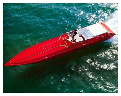 1994 Fountain 42 Competition Series Power Boat Photo Poster zud0546