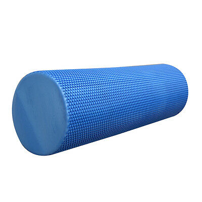 45cm TEXTURED YOGA FOAM ROLLER EXERCISE - TRIGGER GYM PILATES PHYSIO MASSAGE UK!